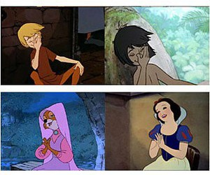 disney, oops, and snow white image