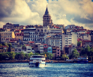 city, istanbul, and Turkish image