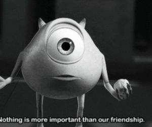 friendship, friends, and monsters inc image