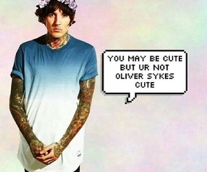 oliver sykes, cute, and band image