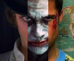 a clockwork orange, batman, and fight club image