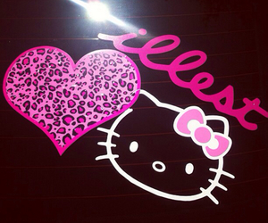 hello kitty and illest image