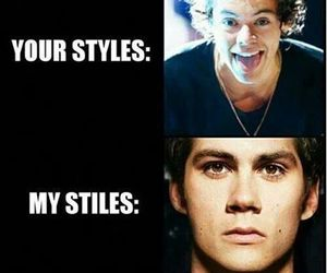 teen wolf, stiles, and Harry Styles image