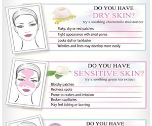 dry skin, oily skin, and beauty tips image