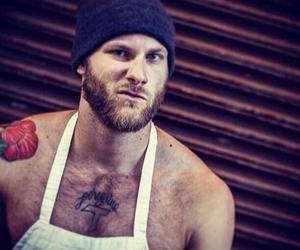 beard, blond, and cook image