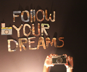 camera, drawing, and dreams image