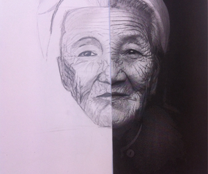 croquis, old, and people image