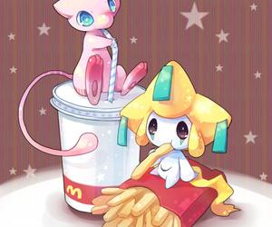 pokemon, mew, and jirachi image