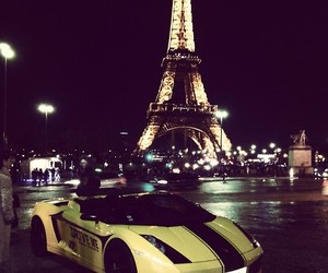 car, paris, and luxury image