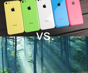 apple, blue, and colours image