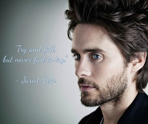 fail, jared leto, and try image