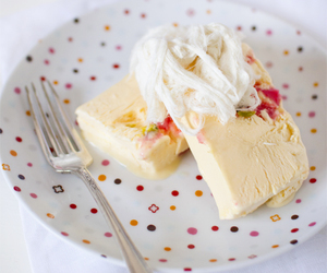 ice cream, turkish delight, and rosewater image
