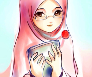 awwww cute and luv islam image