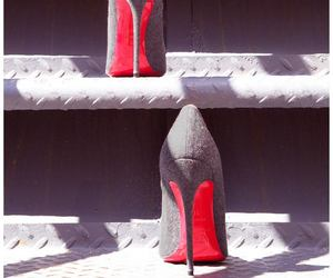 louboutin, shoes, and high heels image