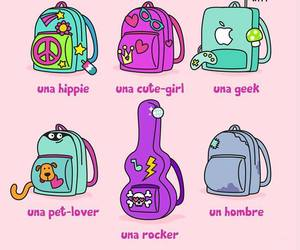 bags, lindas, and clases image