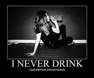 drink, alcohol, and drunk image