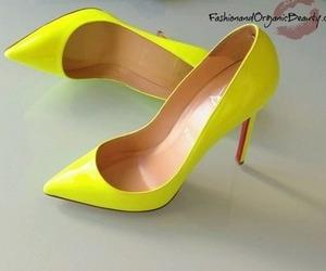 heels, clothing, and high heels image