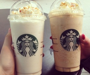 coffee, cream, and drink image