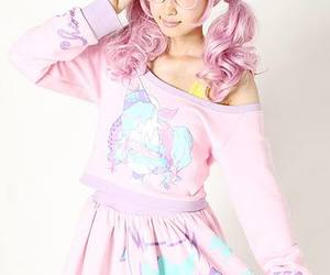 cosplay, japanese girl, and pink image