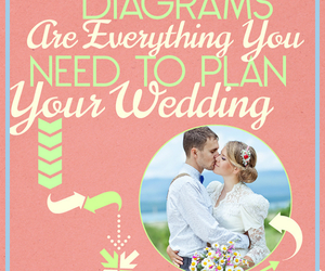 diagrams, wedding, and wedding planning image
