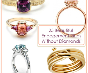 rings, engagement rings, and no diamonds image