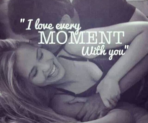 love, couple, and moment image