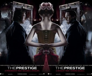 christian bale, Scarlett Johansson, and the prestige image