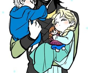 disney, jack frost, and loki image