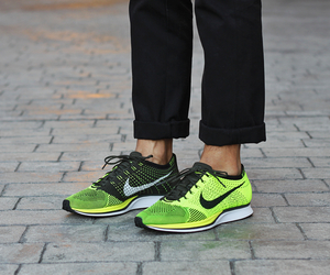 nike, racer, and flyknit image