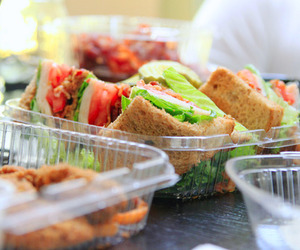 food, nice, and sandwiches image