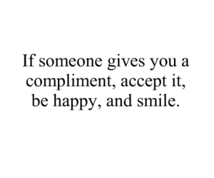 smile, happy, and compliment image