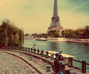 city, destination, and paris image