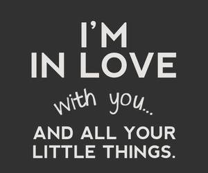 little things, lyric, and one direction image