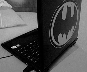 batman and notebook image