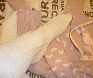 fashion, socks, and pink image