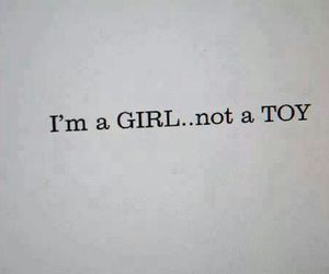 girl, toys, and quote image