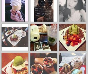 couples, PrettyGirl, and waffles image