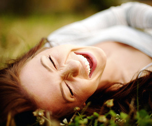 girl, smile, and happy image