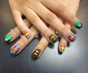 batman, nails, and superhero image