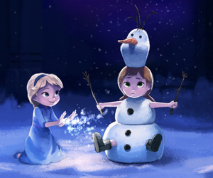 frozen, ♥♥♥, and muñeco image