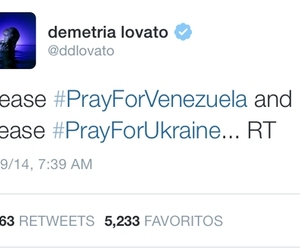 demi lovato, pray, and tweets image