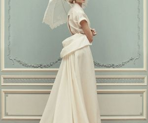 dress, model, and white image