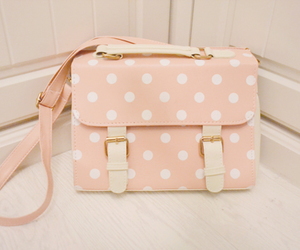 bag, pretty, and fashion image