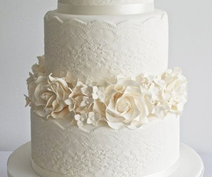 cakes, roses, and sugar image
