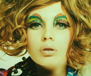 vintage, makeup, and 60s image