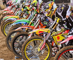 live, motocross, and riders image