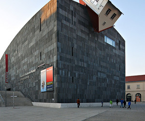 architecture, austria, and contemporary art image