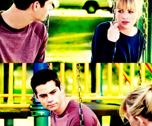 the first time, dylan o'brien, and britt robertson image