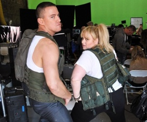 funny, channing tatum, and rebel wilson image