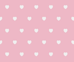 girly, hearts, and wallpapers image